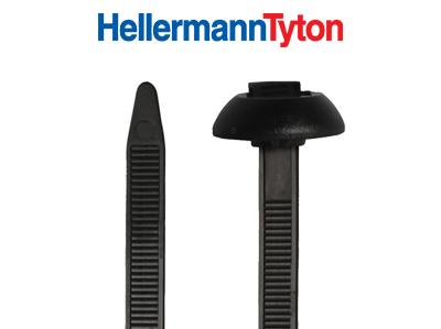 Kabelbinder für Einlochmontage
