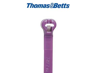 mit Stahlzunge, violett