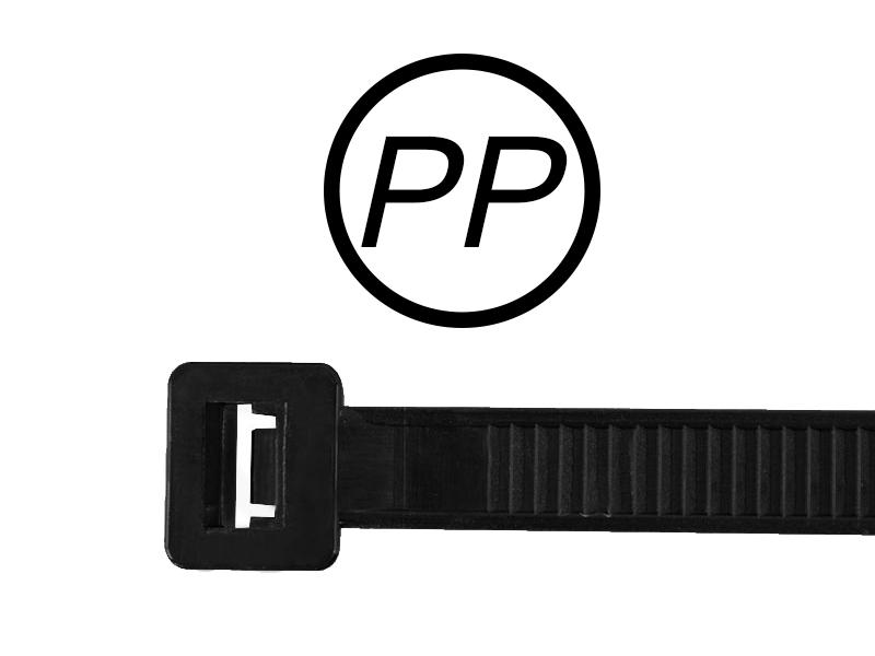 Kabelbinder aus PP-Polypropylen