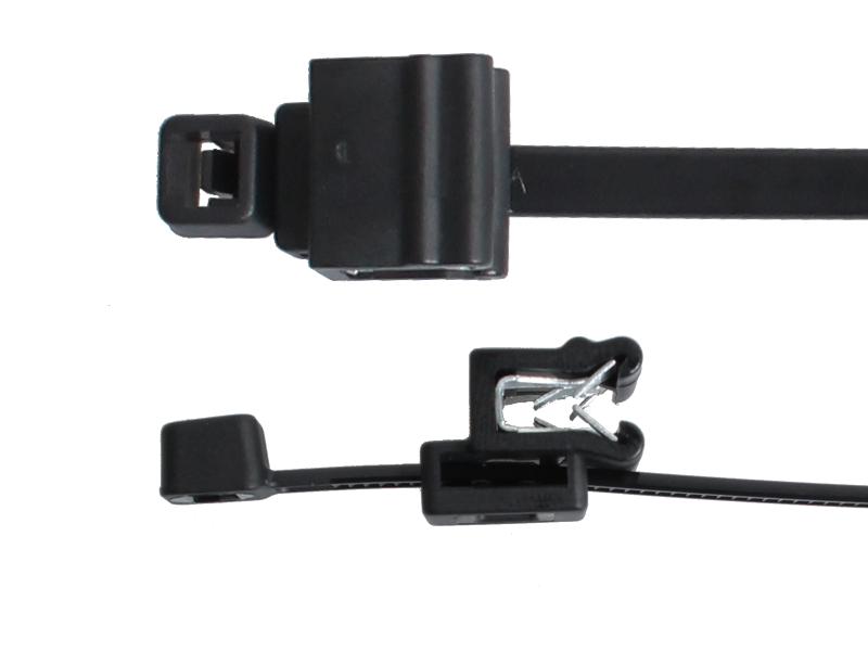 Kabelbinder mit Edge-Clip