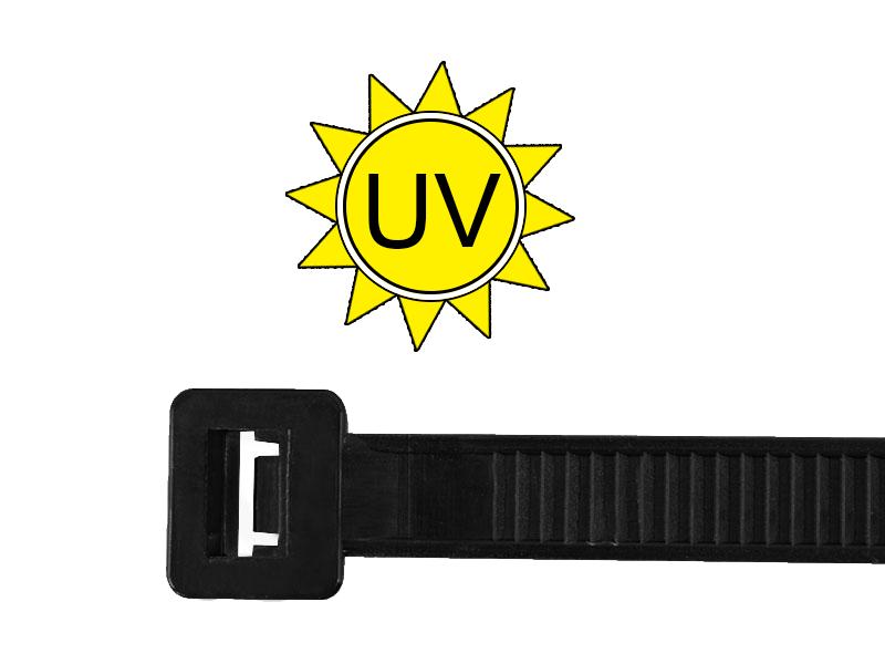 Kabelbinder UV-beständig