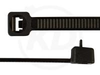 3,6 x 100 mm Kabelbinder, wiederlösbar, schwarz 100 Stück