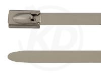 4,6 x 350 mm Edelstahlbinder mit Kugelfixierung 100 Stück