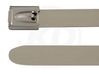 7.9 x 840 mm Edelstahlbinder, 304 SS, 100 Stück