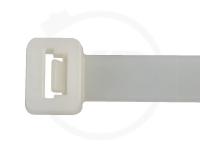 9.0 x 1350 mm Kabelbinder, natur, 100 Stück