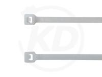 2.5 x 100 mm Kabelbinder außenverzahnt, natur, 100 Stück
