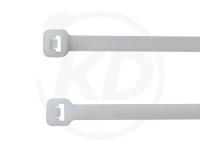 4.8 x 200 mm Kabelbinder außenverzahnt, natur, 100 Stück