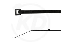 2.5 x 102 mm Kabelbinder mit Stopper, schwarz, 100 Stück
