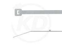 2.5 x 102 mm Kabelbinder mit Stopper, natur, 100 Stück