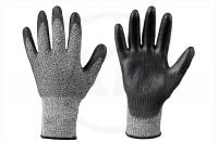 Schnittschutzhandschuhe, schwarz, Gr. 10
