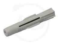 Universal-Dübel ohne Rand 6 x 36 mm, grau 100 Stück