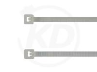2.6 x 380 mm Kabelbinder, natur, 100 Stück