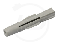 Universal-Dübel ohne Rand 10 x 60 mm, grau 100 Stück