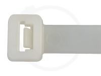 12.6 x 530 mm Kabelbinder, natur, 100 Stück