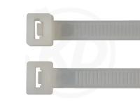 7.8 x 365 mm Kabelbinder, natur, 100 Stück