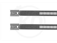 7.2 x 600 mm, Edelstahlbinder mit Leiterverschluss, 100 Stück