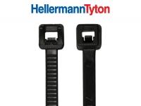 Hellermann KB 3,5 x 150 mm aus Polyamid 11, schwarz 100 Stück