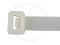 9.0 x 300 mm Kabelbinder, natur, 100 Stück