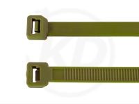 7.8 x 365 mm Kabelbinder, oliv, 100 Stück