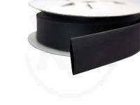 Schrumpfschlauch-Box, 6,4 mm, schwarz, 5 m
