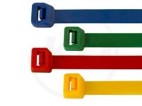 Kabelbinder Set - 4.8 x 200 mm, bunt, 400 Stück