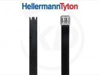 Hellermann KB 12,3 x 1092 mm, Edelstahl, für Doppelbündelung, beschichtet, 100 Stück
