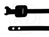 Edelstahlkabelbinder wiederlösbar, 6,3 x 229 mm, 100 Stück