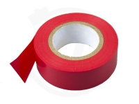PVC - Isolierband, 50 mm x 20 m, rot
