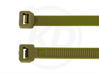 2.5 x 98 mm Kabelbinder, oliv, 100 Stück