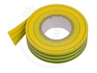 PVC - Isolierband, 19 mm x 20 m, gelb/grün