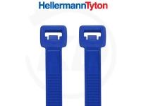 Hellermann KB 2,5 x 100 mm aus E/TFE (Tefzel®), blau 100 Stück