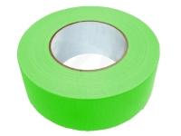 Gewebe-Klebeband, 48 mm x 10 m, neon-grün