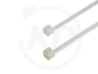 2.6 x 160 mm PREMIUM Kabelbinder, natur, 100 Stück