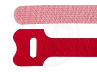 Klettbinder, rot, 12,5 x 300 mm, 20 Stück