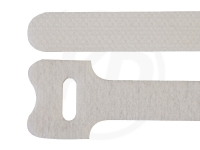 Klettbinder, weiß, 12,5 x 130 mm, 20 Stück