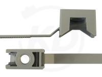 7.8 x 180 mm Kabelbinder mit Schraubhalter, 100 Stück