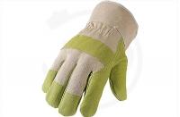 Kunstleder-Handschuhe, Gr. 10,5