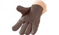 Möbelleder-Handschuhe, gefüttert, Gr. 10