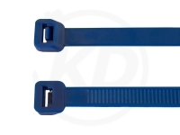 3.6 x 140 mm Kabelbinder, blau, 100 Stück