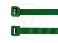3.6 x 140 mm Kabelbinder, grün, 100 Stück