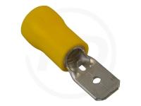 Flachstecker, isoliert, 6.3 mm, 2.5 - 6.0mm², 100 Stück