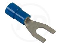 Gabelkabelschuhe, 1.5 - 2.5 mm², M3.5, 100 Stück