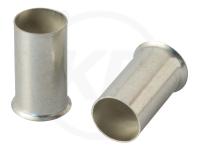 Aderendhülsen, blank, 9mm, 4.0mm², 100 Stück