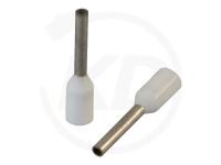 Aderendhülsen isoliert, 14mm, 8mm, 0.5mm², 100 Stück