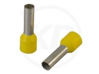 Aderendhülsen isoliert, 20mm, 12mm, 6.0mm², 100 Stück