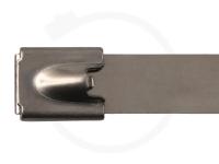 12.0 x 840 mm Edelstahlbinder, 304 SS, 100 Stück