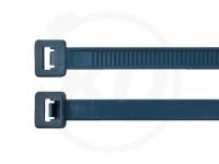 3.5 x 140 mm detektierbare Kabelbinder, 100 Stück
