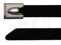 7,8 x 200 mm Edelstahlbinder mit Beschichtung 100 Stück