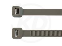 7.8 x 365 mm Kabelbinder, grau, 100 Stück