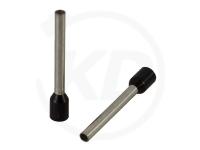 Aderendhülsen isoliert, 18mm, 12mm, 1.5mm², 100 Stück